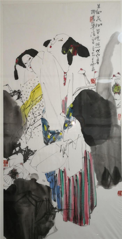 陕西王西京字画作品