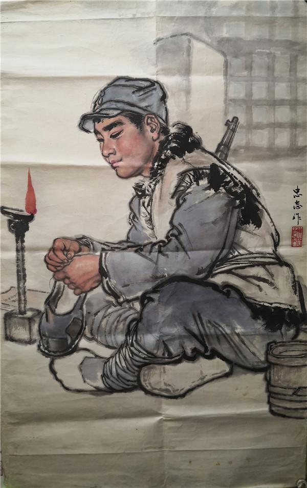 陈忠志字画