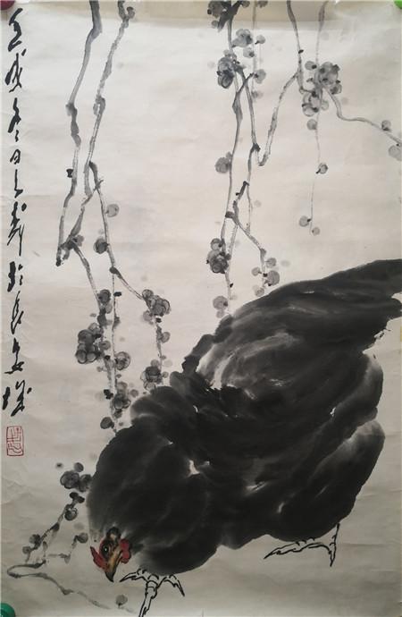 王子武字画-动物