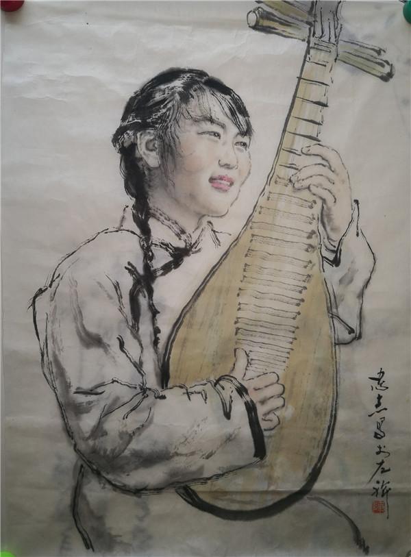 陈忠志字画作品展示