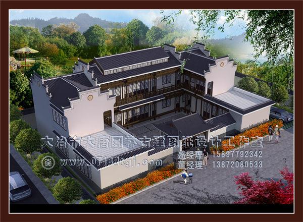 湖北仿古建筑设计—四合院设计施工