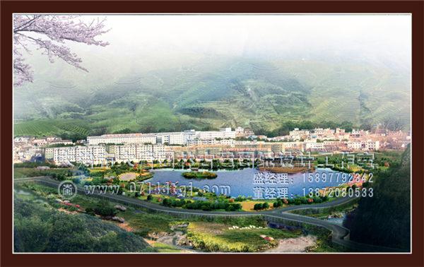 湖北风景区施工设计