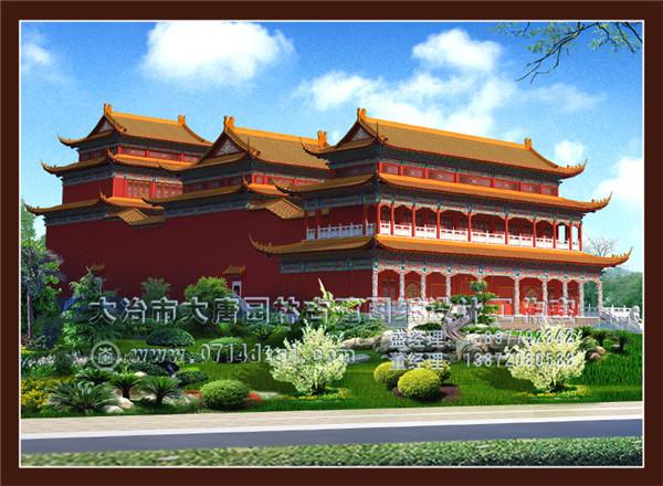 湖北仿古建筑设计