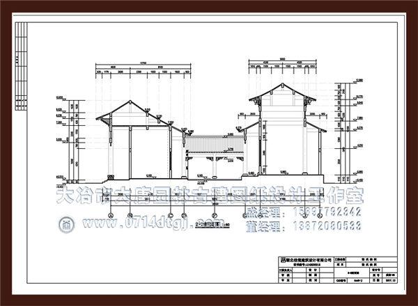 湖北仿古建筑设计定制