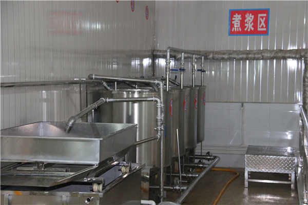 湖北豆腐煮浆系统