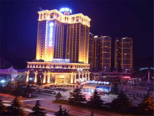 武汉防火玻璃合作客户——荆门星球国际酒店