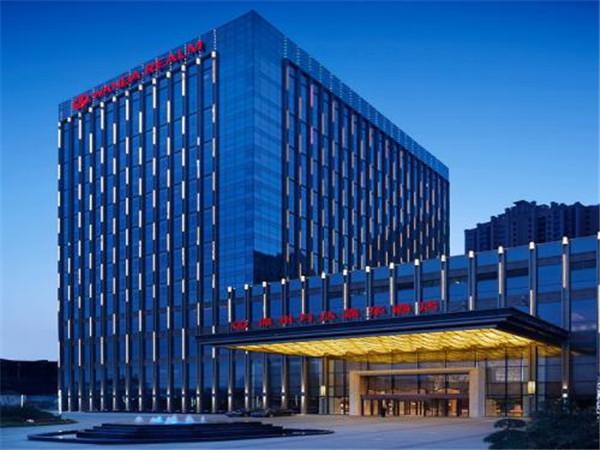 武汉夹丝玻璃合作客户——西安W酒店