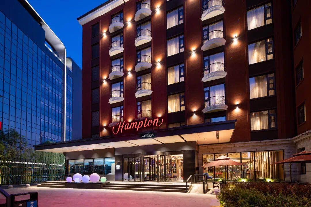 北京国贸商务区希尔顿欢朋酒店