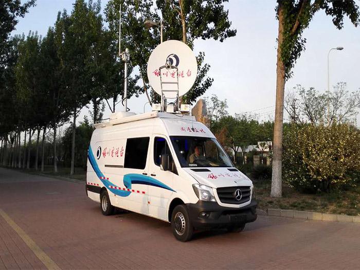 1.8米电视台直播车车载天线(静中通)