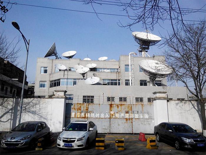 陕西电视台固定站天线安装案例