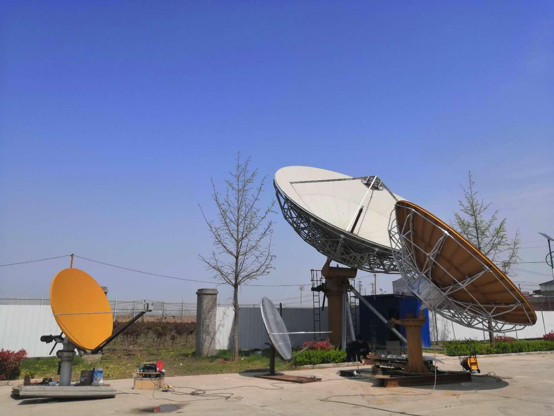 1.8、4.5、9米KA天线联调测试进行中,欢迎新老客户咨询,洽谈。