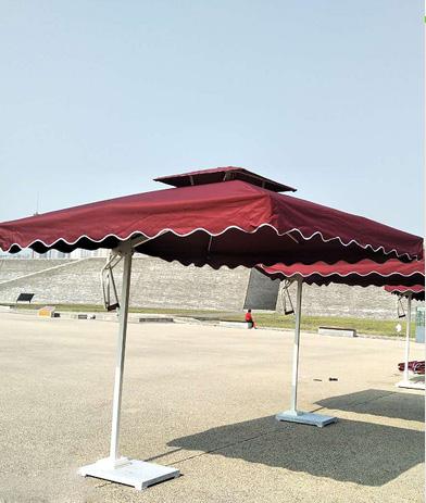 西安庭院伞