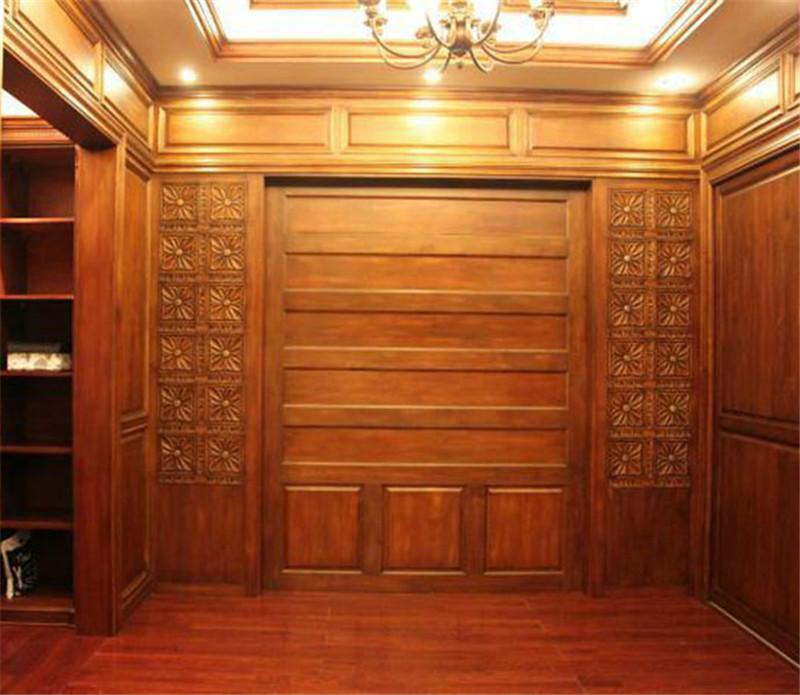 荆州卓创装饰为您推荐——实木护墙板将成为家庭装修的选择