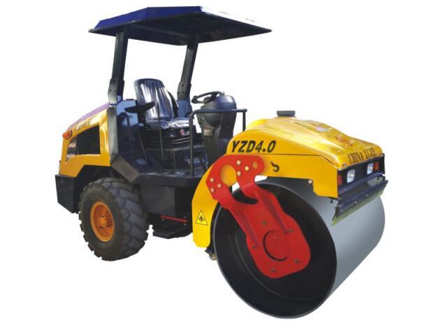 YZD4.0单钢轮震动压路机