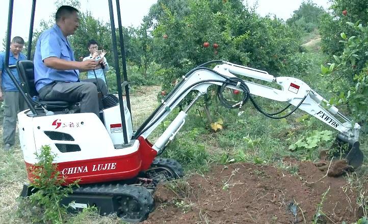 西安农用挖掘机价格