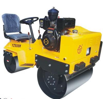YZS08H小座驾手扶式压路机