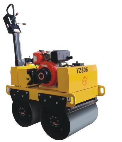 YZS06小座驾手扶式压路机