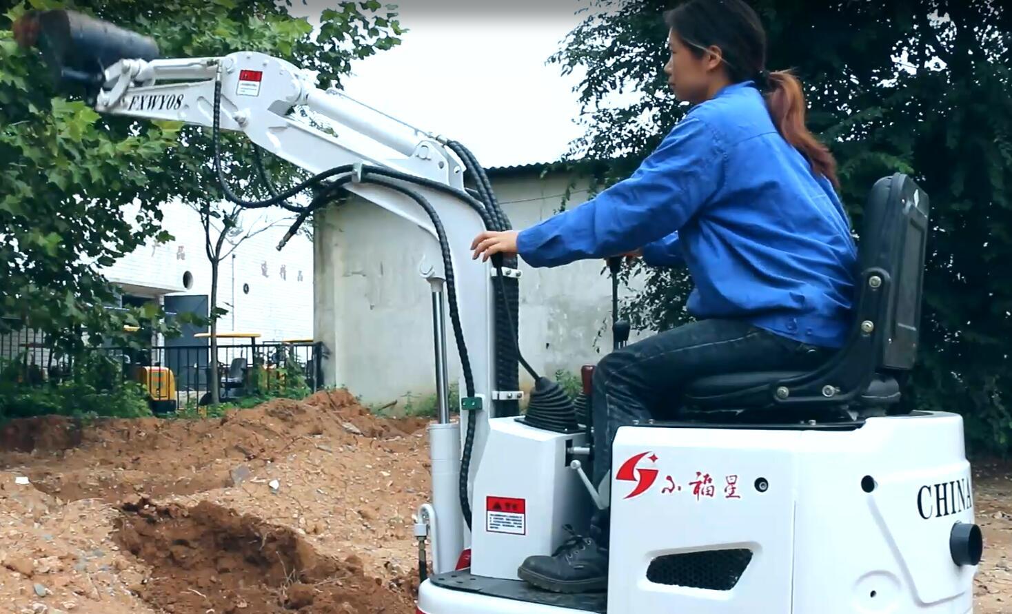 路捷挖掘机案例展示