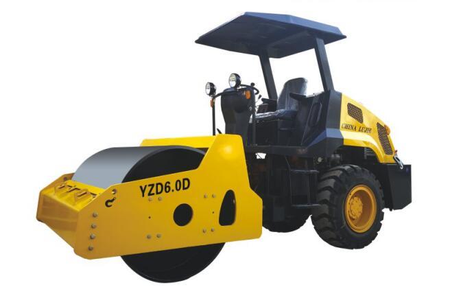 YZD6.0D单钢轮震动压路机
