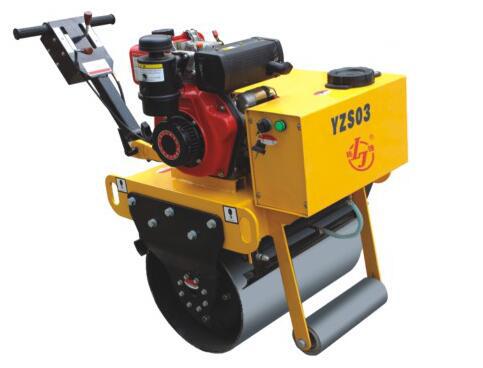 YZS03小座驾手扶式压路机
