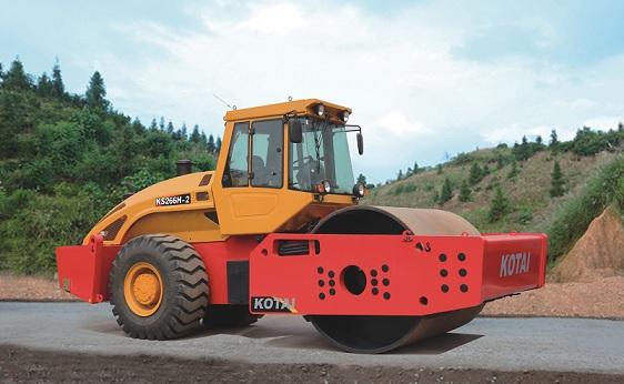 KS266H-2单钢轮全液压压路机