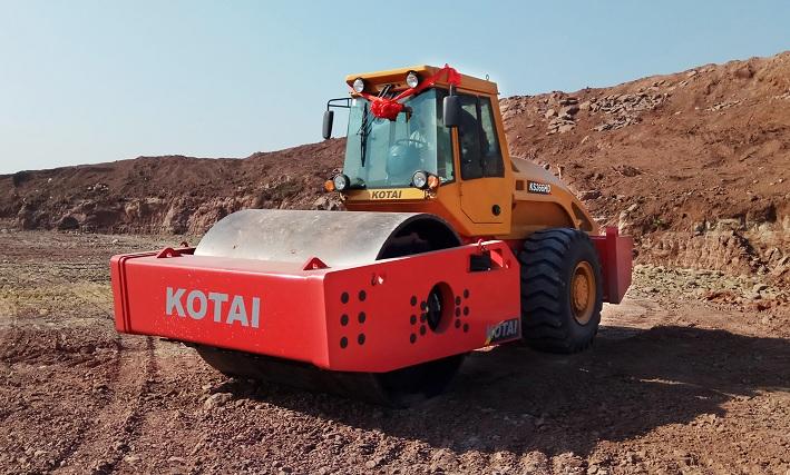 KS366HD单钢轮振动压路机