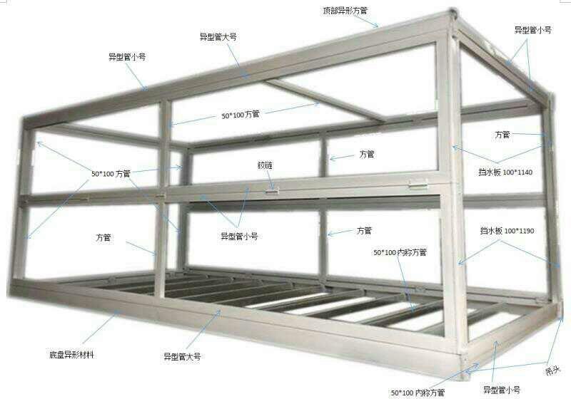 成都固定集装箱生产厂家