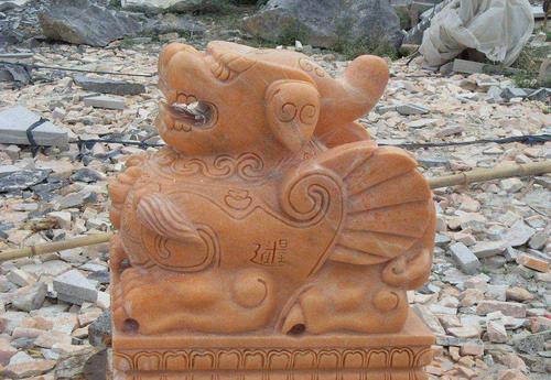 石雕厂家告诉你石雕貔貅的正确摆放位置