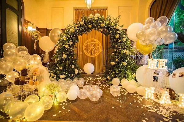 花的嫁纱---浪漫鲜花主题婚礼
