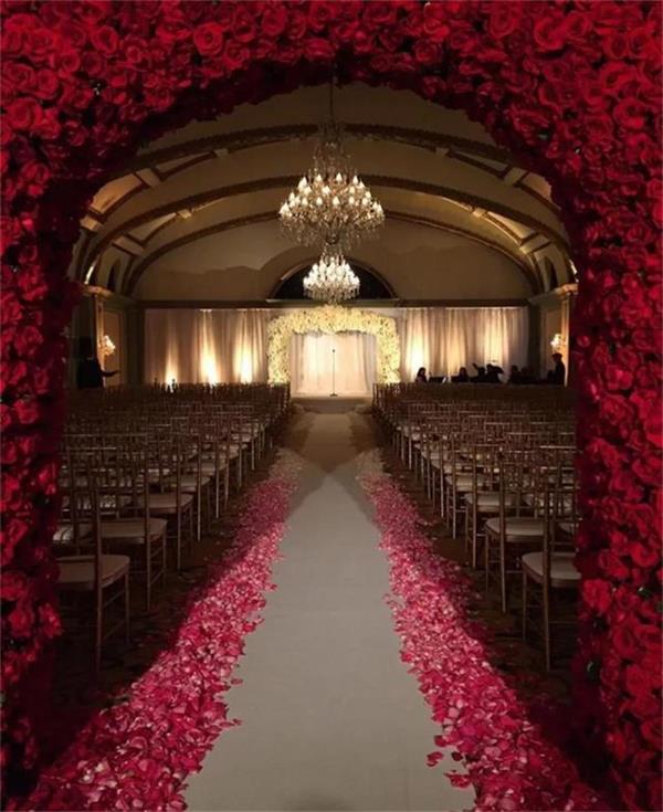 婚礼现场的布置