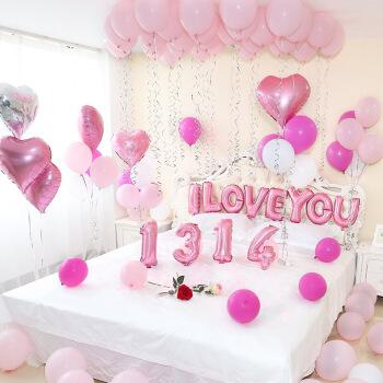 婚房气球怎样装饰会显得温馨和浪漫?