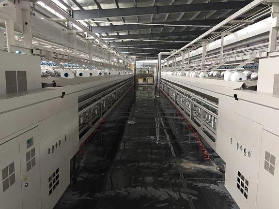 全光纯绦纶缝纫线生产设备
