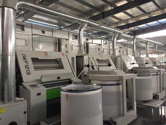 湖北涤纶纱线生产设备