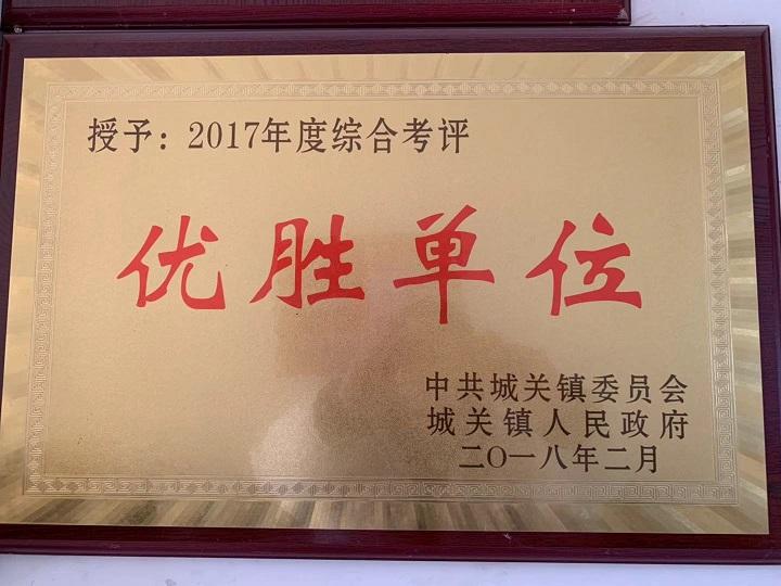 湖北涤纶纱线厂家荣获优胜企业称号