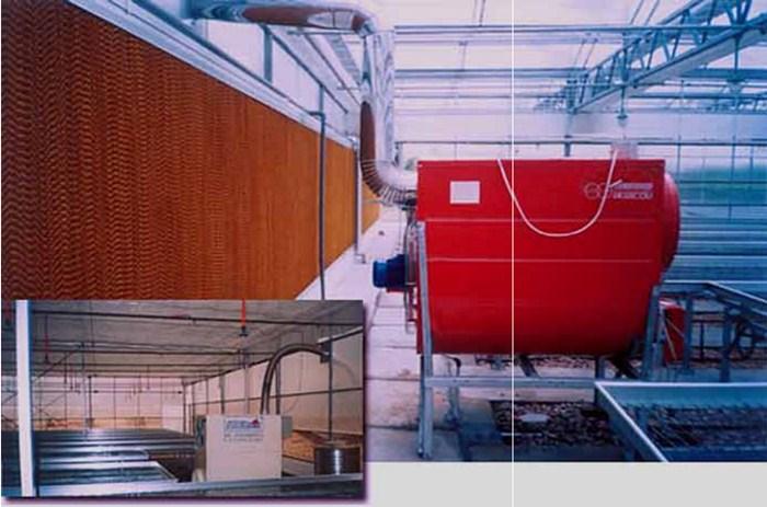 温室加温 散热系统