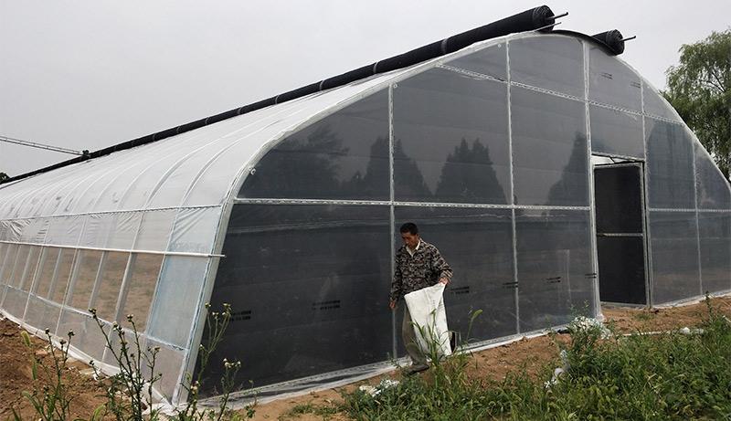 大跨度外保温型陕西温室大棚