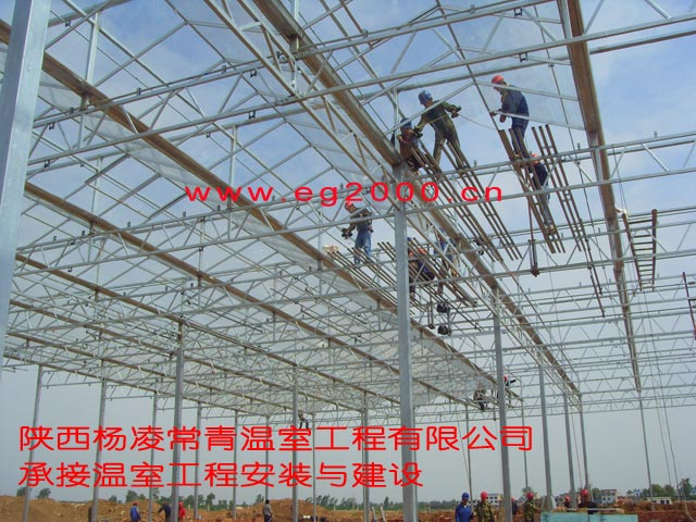 温室大棚建造安装