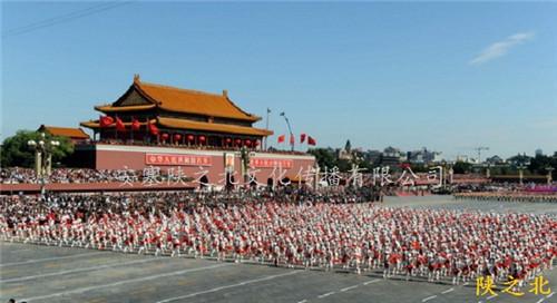 北京首都国庆60周年群众游行----安塞腰鼓之较