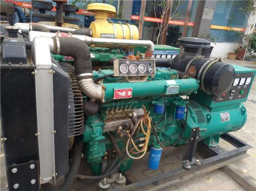郑州发电机维修合作案例