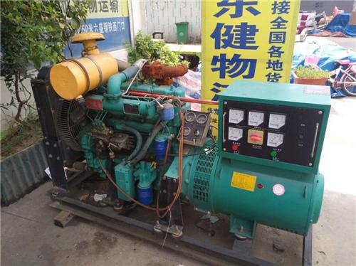 郑州发电机出租给市政工程总公司合作案例