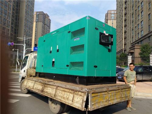 郑州发电机租赁公司与直机关物业管理合作