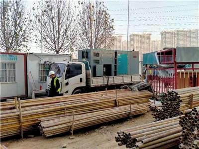 郑州发电机租赁合作案例2