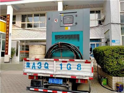 郑州发电机租赁合作案例1