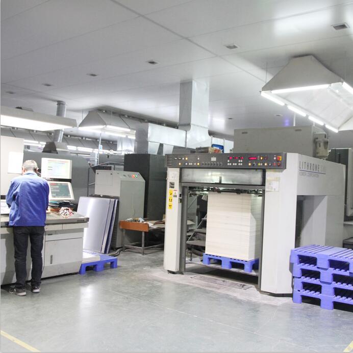 包装印刷区域