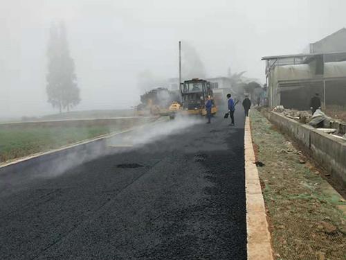 成都沥青道路施工结构层