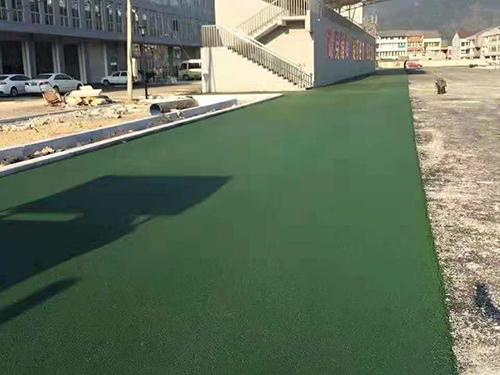 四川彩色沥青路面施工