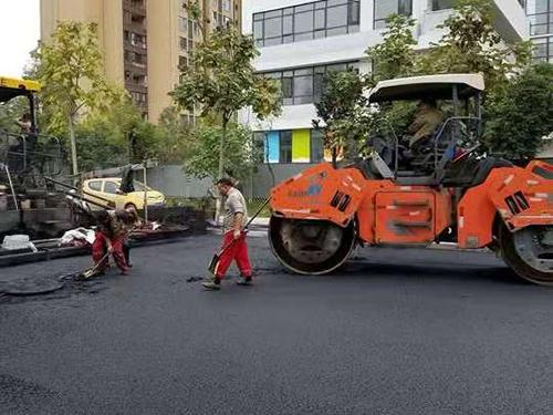 贵州沥青道路施工