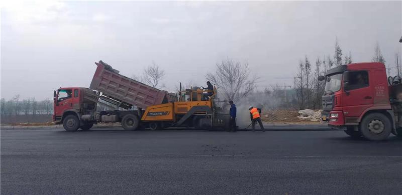 成都透水沥青路面施工案例