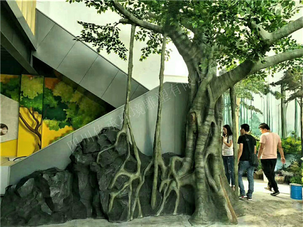 成都假山假树制作