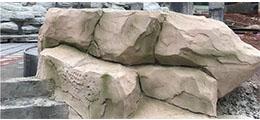 四川假山景观:仁寿皇家尊邸假山项目